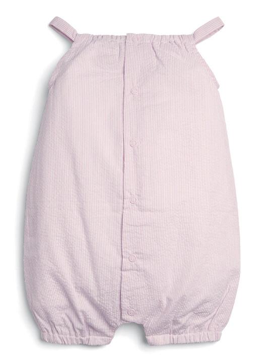 Embroidered Romper - Pink image number 2