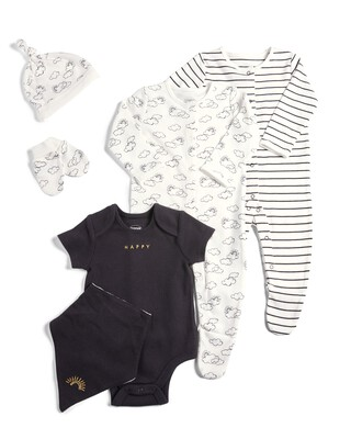 6 Piece Set Monochrome