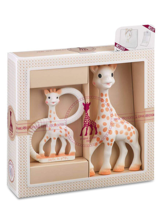 Sophie la girafe Classic Creation Birth Set ( Small) image number 1