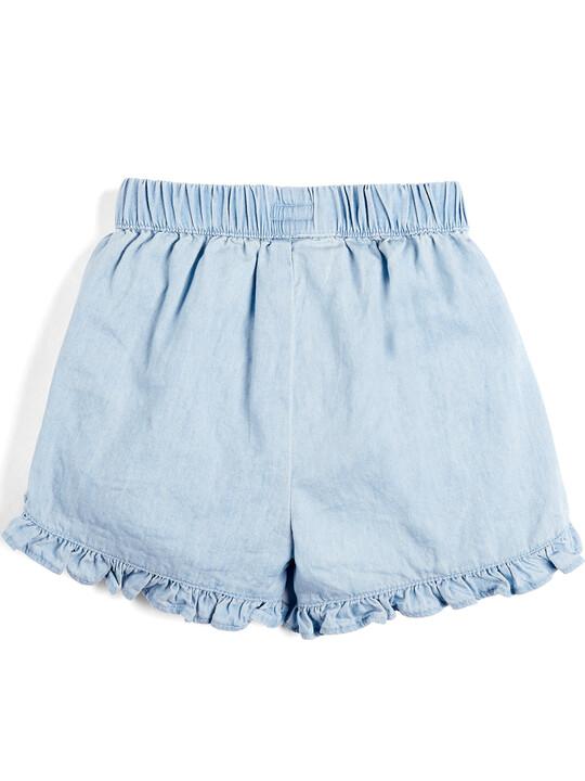 Chambray Shorts image number 2