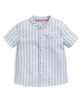 Woven Striped Shirt