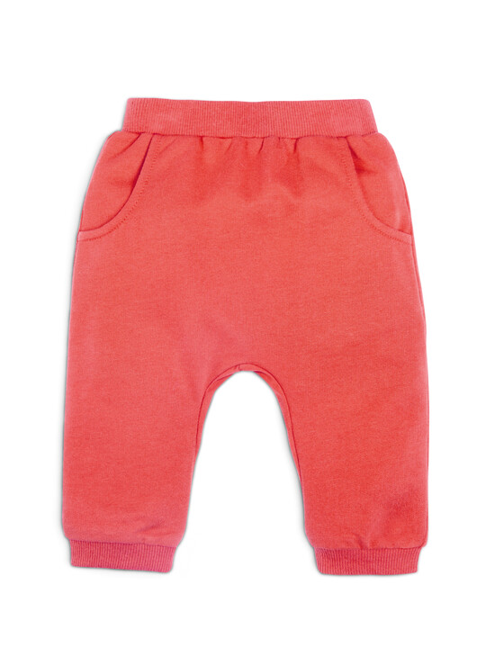 Red Joggers image number 1