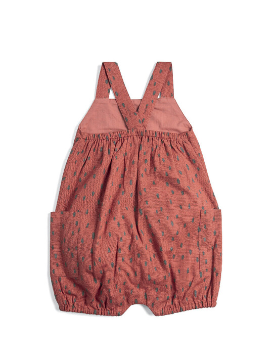 All-over-print Dungaree Romper image number 2