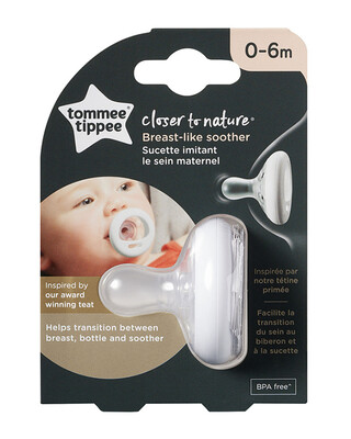Tommee Tippee Closer to Nature LITTLE LONDON Soother Girl(0-6M)