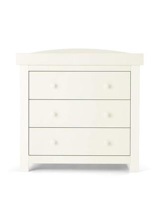 Mia Dresser/Changer - Pure White