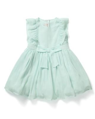 Crinkle Dress Blue