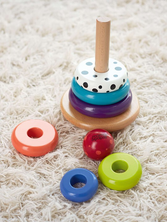 Babyplay  -  Wobbly Stacker image number 5