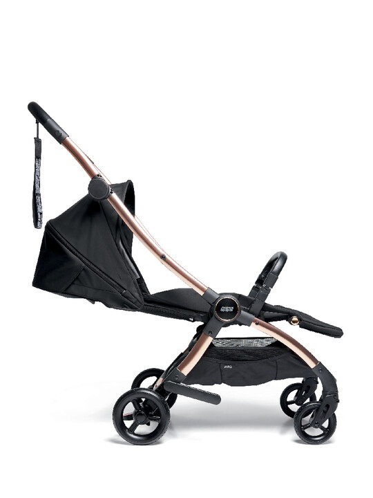 Airo Dusk with Rose Gold Frame Pushchair with Black Newborn Pack image number 8