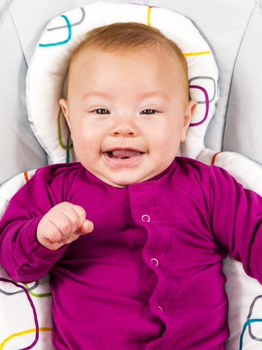 4moms New Reversible Newborn Insert - Multi Plush image number 3