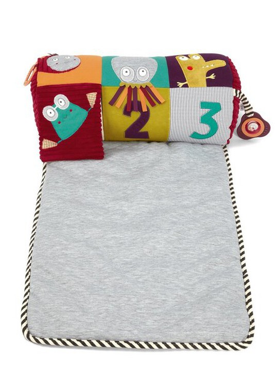 Tummy Time Activity Toy & Rug image number 1