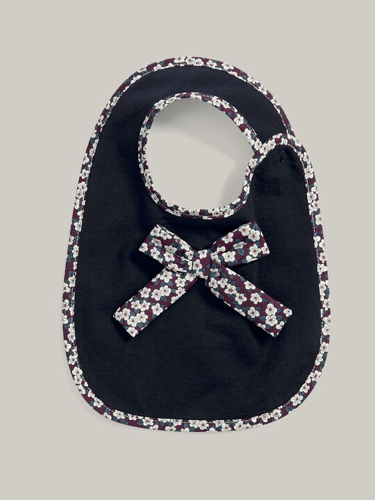 Liberty Bow Bib Navy- One size image number 1