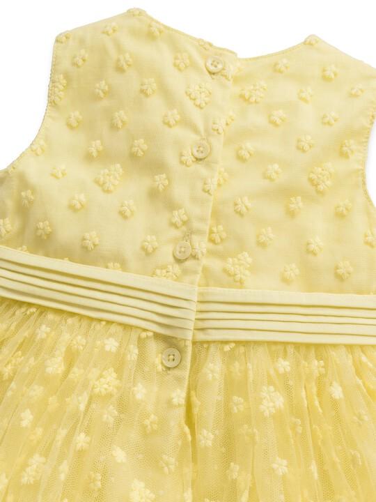 Embroidered Floral Dress image number 3