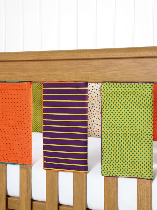 Timbuktales - Unisex Cot Bar Bumpers (pack of 8) image number 1