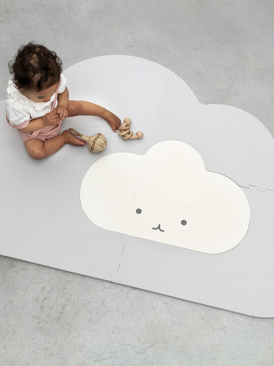 Quut Playmat Cloud Small Pearl Grey image number 3