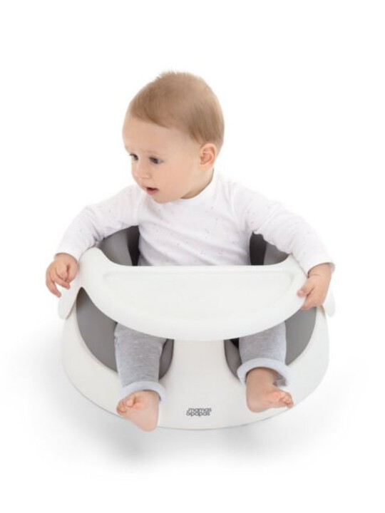 BABY SNUG AND ACTIVITY TRAY GREY image number 6