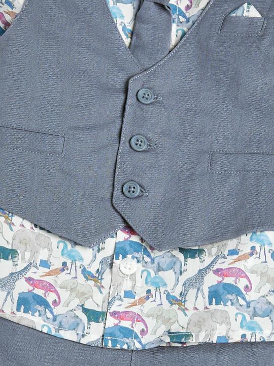 4 Piece Liberty Shirt & Waistcoat Set image number 5