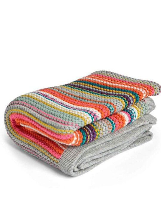 Big Top Tales Knitted Blanket image number 1