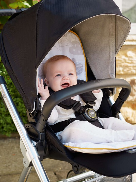 Cotton Pushchair Liner - Cotton Clouds image number 2