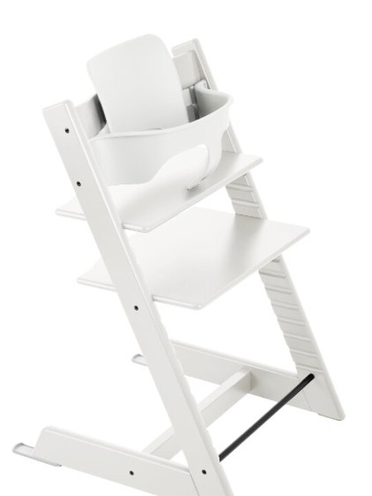 Stokke® Tripp Trapp Chair Baby Set - White image number 2