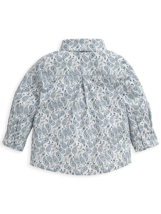 Ditsy Paisley Print Shirt image number 5