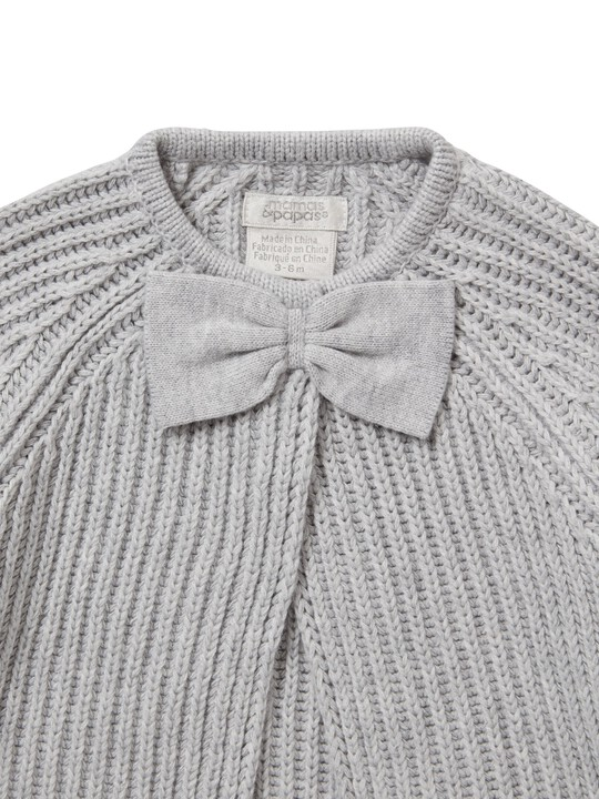 Knitted Bow Cardigan image number 3