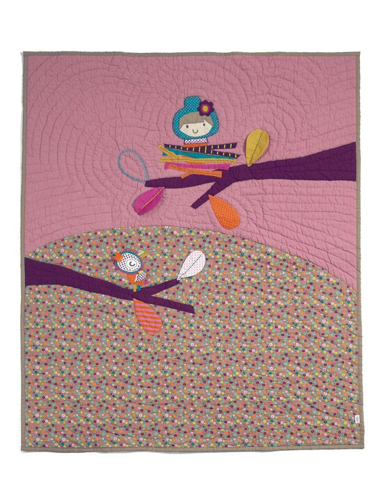 Timbuktales - Girls Cotbed Coverlet image number 6