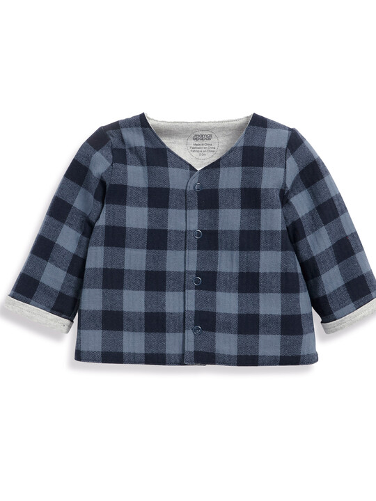 Welcome to the World Checked Jacket image number 1