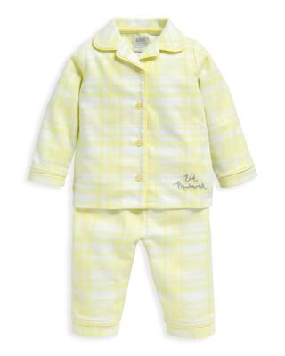 Yellow Check Pyjamas