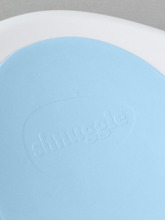 Shnuggle Bath - White with Blue image number 6