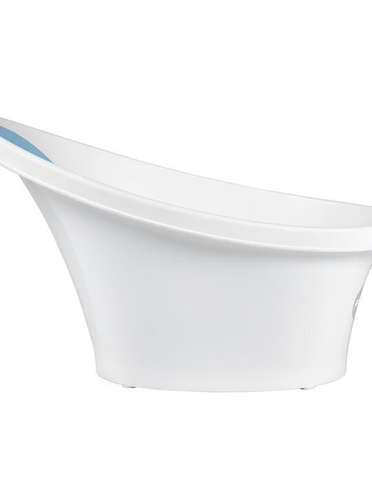 Shnuggle Bath - White with Blue image number 5