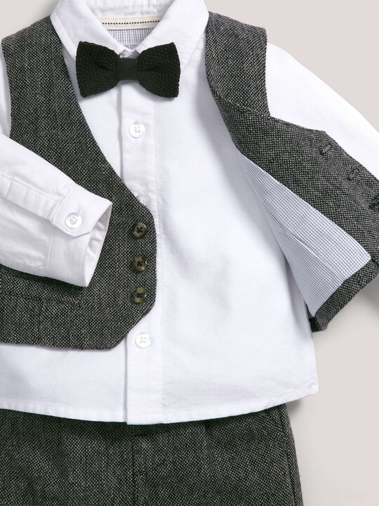 Occasion Speckle Waistcoat, Shirt, Bow Tie & Trousers Set image number 3