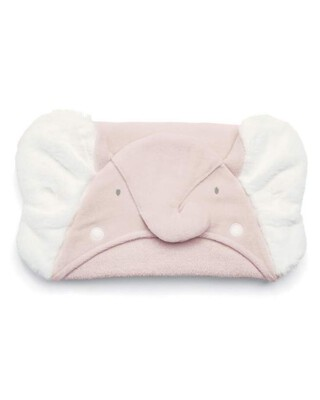 Hooded Towel - Elephant Pink