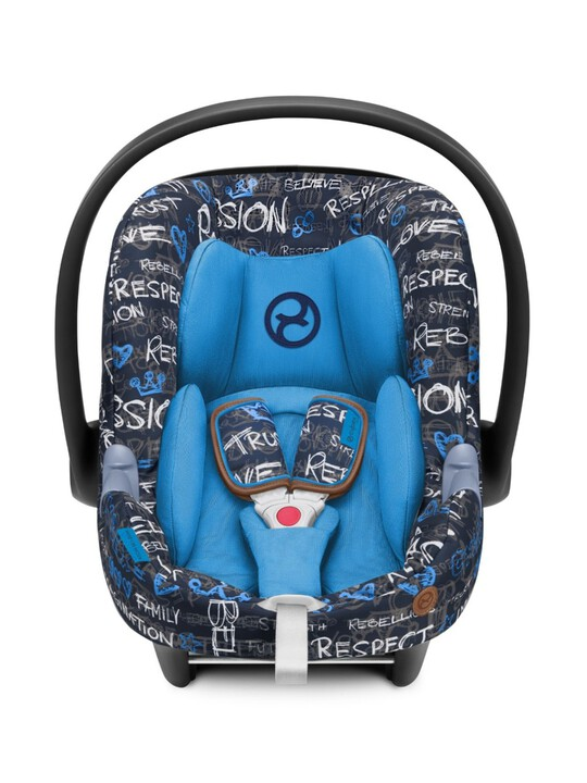 CYBEX Aton M i-Size - Trust Blue image number 2