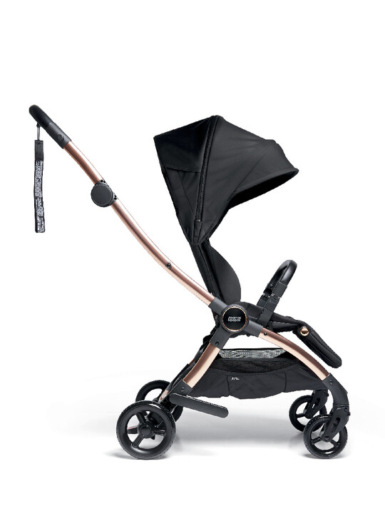 Airo Dusk with Rose Gold Frame Pushchair with Black Newborn Pack image number 3