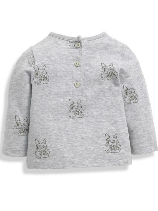 Bunny Print T-Shirt image number 4