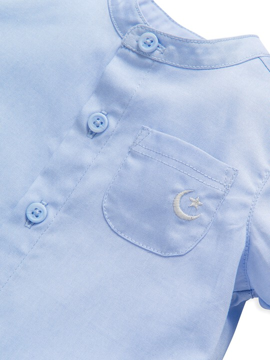 2 Piece Chambray Shirt & Trousers Set image number 7