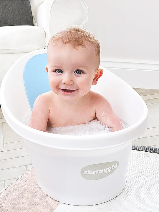 Shnuggle Bath - White with Blue image number 4