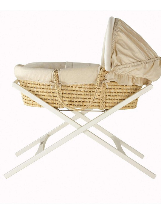 Deluxe Stand for Moses Basket - Ivory image number 2