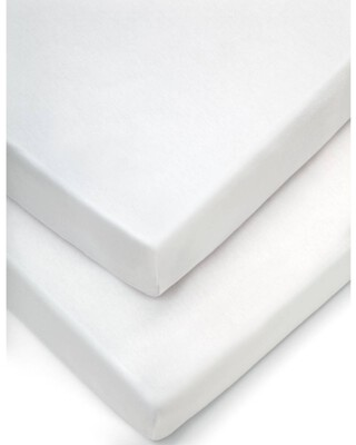 Moses Fitted Sheets (Pack of 2) - White