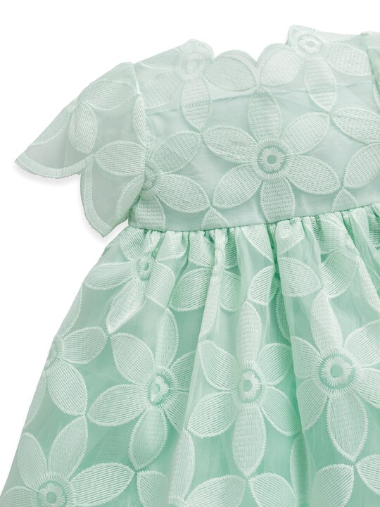 Mint Organza Dress image number 3