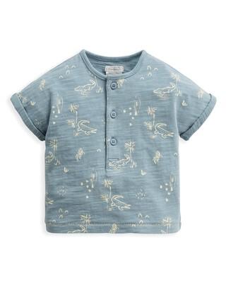 Crocodile Print T-Shirt