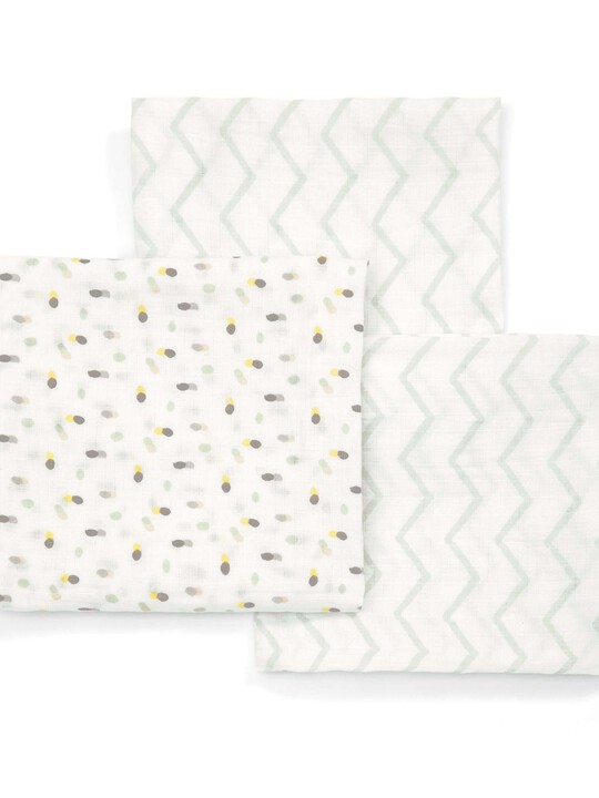 Large Muslin Squares (pack of 3) image number 1