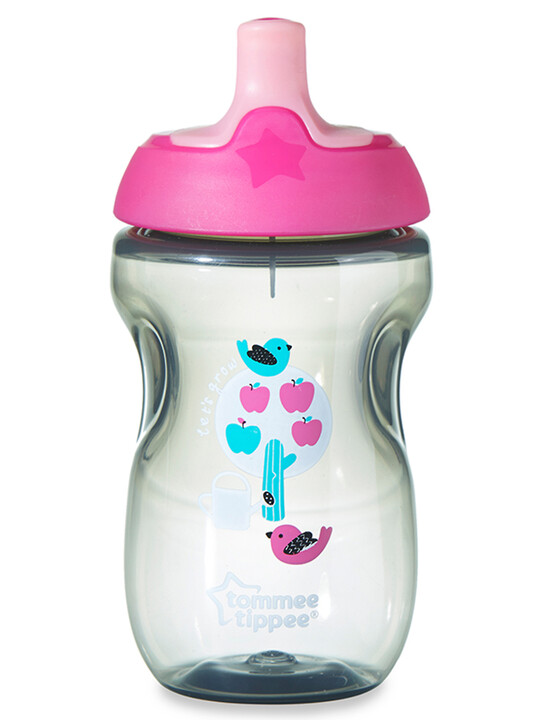 Tommee Tippee Explora Active Sports Cup 12m+ - Pink image number 1