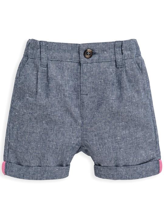 Chambray Shorts image number 1