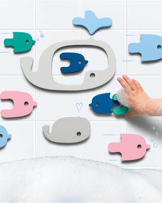 Quut Quutopia Bath Puzzle Whale
