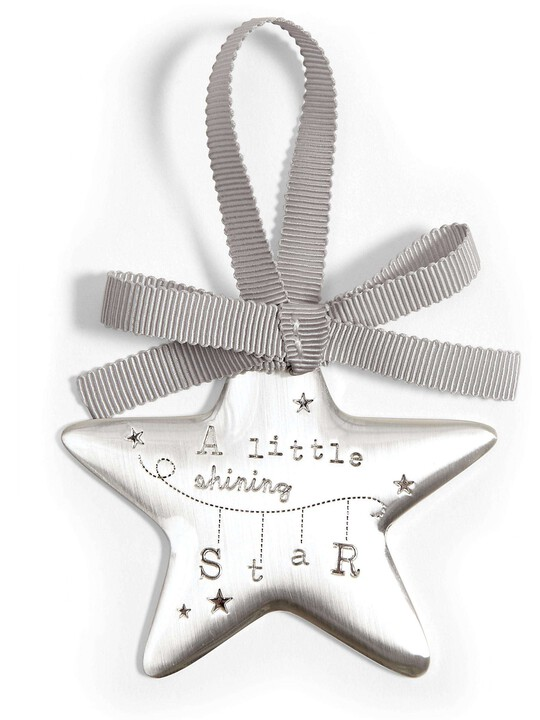 Welcome to the World - Silver Hanging Star image number 1