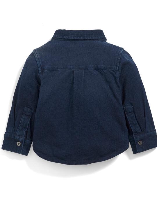 Jersey Denim Shirt image number 2