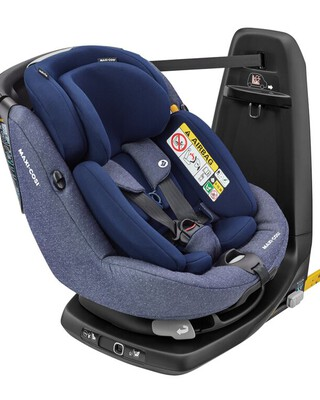 Maxi Cosi Axissfix Plus Car Seat - Sparkle Blue
