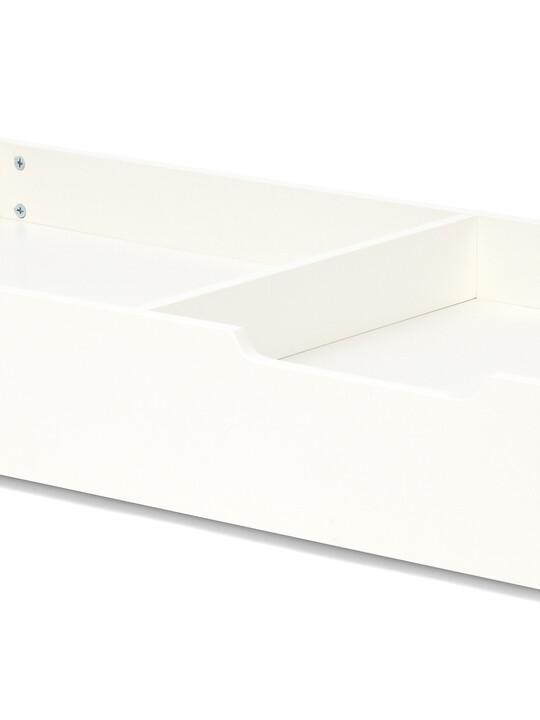 Cot Bed Underbed Storage Drawer - Ivory image number 1