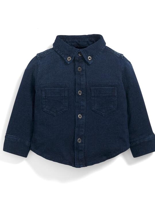 Jersey Denim Shirt image number 1